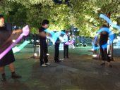 街なかアートイベントの開催 通行や休憩するだけの公開空地を文化的に活用する